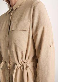 comma casual identity - Button-down blouse - sand - 2