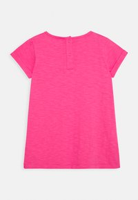 Frugi - LIZZIE APPLIQUE  - T-shirt imprimé - flamingo