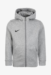 Nike Performance - CLUB19 - Zip-up hoodie - light grey - 0
