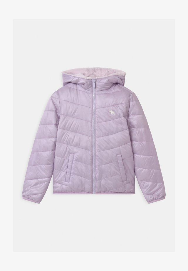 COZY PUFFER - Winter jacket - lilac