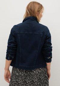 Violeta by Mango - SARAH - Denim jacket - diep donkerblauw - 1