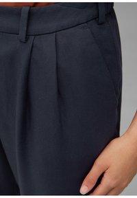 Marc O'Polo DENIM - PAPERBAG - Trousers - scandinavian blue - 4