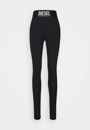 FAUSTIN TROUSERS - Pyjama bottoms - black