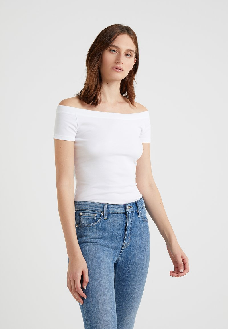 Lauren Ralph Lauren - Basic T-shirt - white