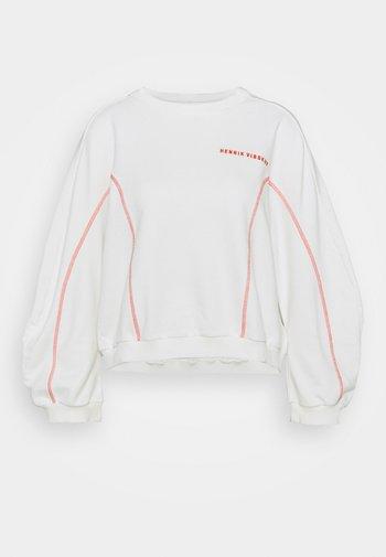 FUNNEL  - Mikina - off-white/orange