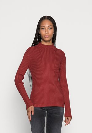TURTLENECK  - Jumper - dark maroon red