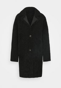VSP - REVERSIBLE CURLY FLORANCE - Klasyczny płaszcz - black antracite - 0