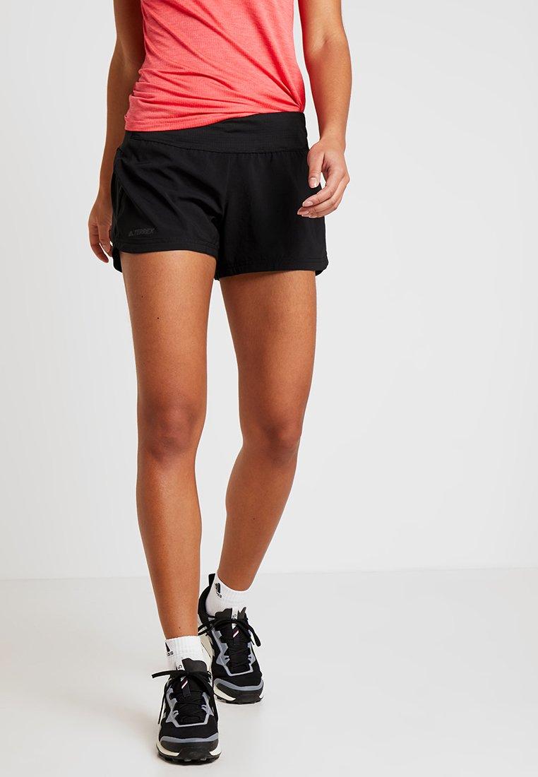 adidas Performance - TERREX TRAIL - Friluftsshorts - black