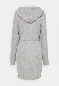 Anna Field - RIBBED BATHROBE - Dressing gown - grey - 6