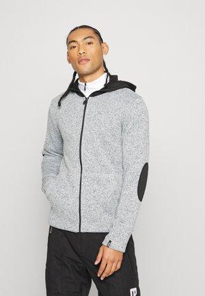 MENS - Fleece jacket - pearl grey/blackboar