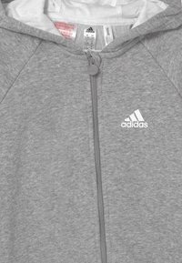 adidas Performance - ONESIE UNISEX - Jumpsuit - medium grey heather/white - 2