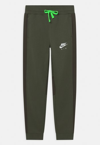 AIR PANT - Tracksuit bottoms - carbon green/sequoia/white