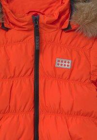 LEGO Wear - JODIE - Zimní kabát - red - 4