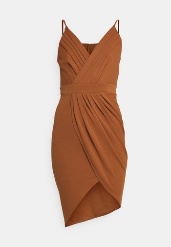 EASY DRESS - Suknia balowa - chocolate