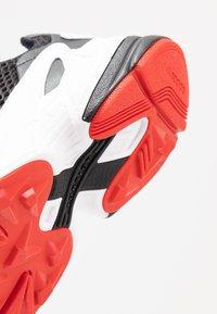 adidas Originals - FALCON ZIP - Sneakers - core black/footwear white/red - 2