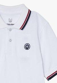 Jack & Jones Junior - JJENOAH  - Polo shirt - white - 3