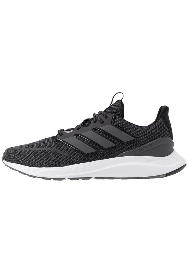 ENERGYFALCON CLOUDFOAM RUNNING SHOES - Neutral running shoes - core black/grey six/footwear white