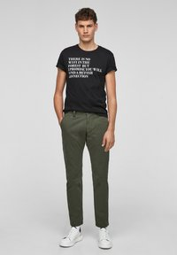 s.Oliver - Trousers - olive - 1