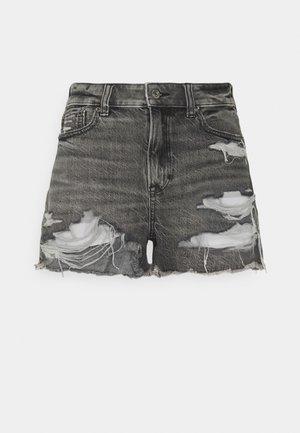 FESTIVAL - Denim shorts - washed black