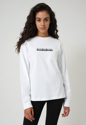 S-BOX LS - Long sleeved top - bright white