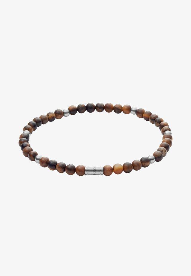MEN JEWELRY VINTAGE CASUAL - Bracelet - brown