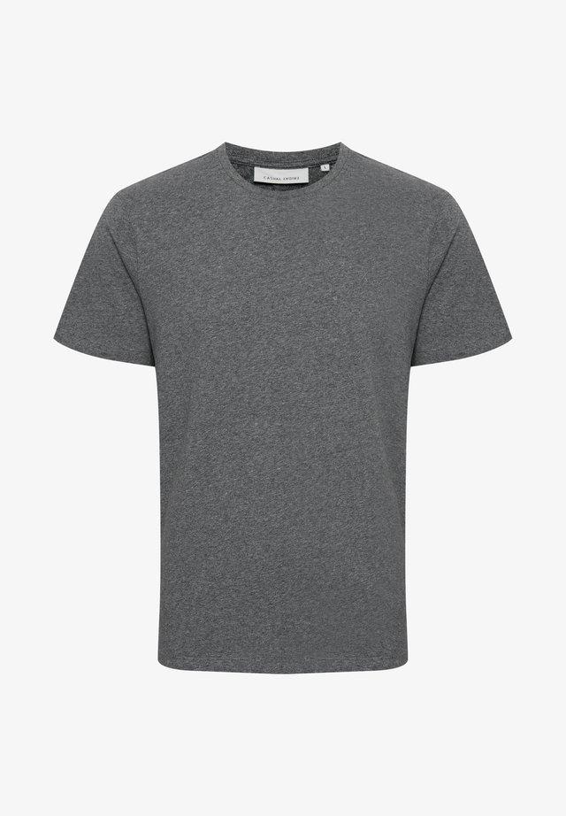 THOR  - T-shirt basique - anthracite black