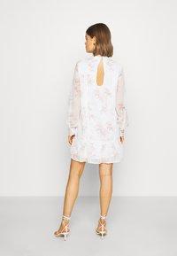 NA-KD - HIGH NECK CROCHET  - Sukienka letnia - light white - 2