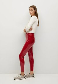 Mango - ESTHER-I - Trousers - rood - 3