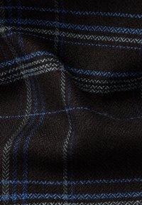 G-Star - 3301 SLIM LONG SLEEVE CHECK - Overhemd - pitch black yoko check - 5