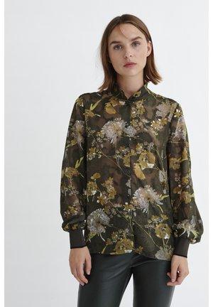 VILLA - Skjortebluser - big rust elderflower