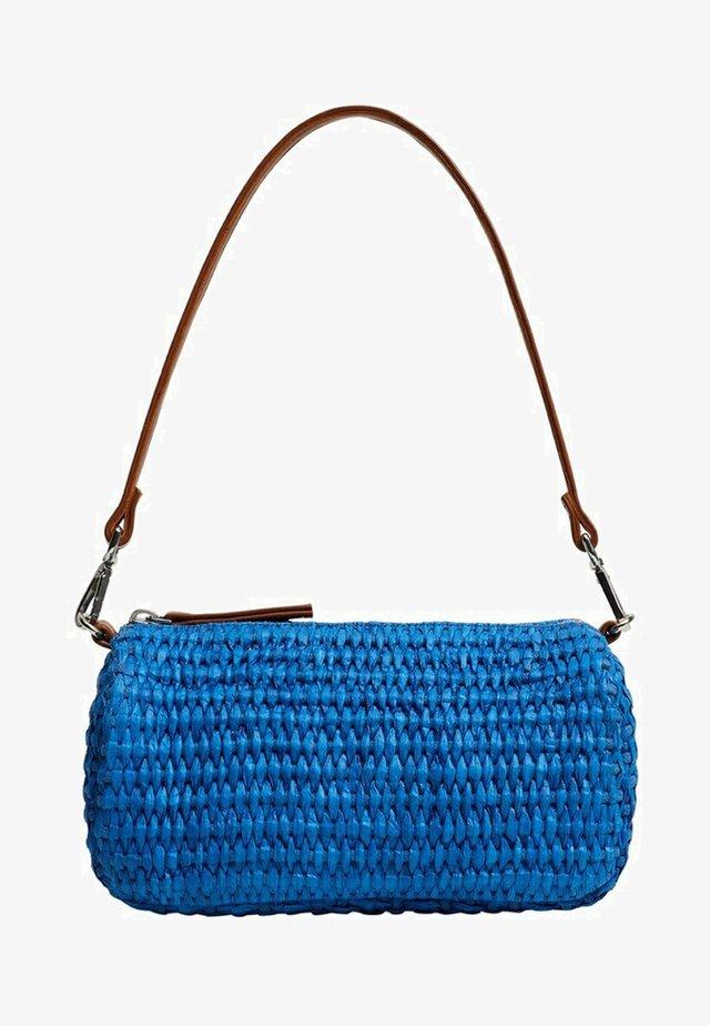Taška spříčným popruhem - blau