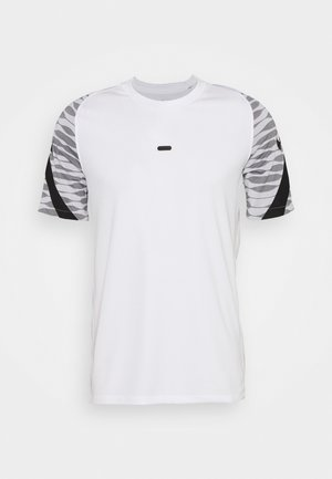 Camiseta estampada - white/black/black/black