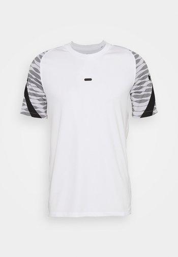 STRIKE  - T-shirt med print - white/black/black/black