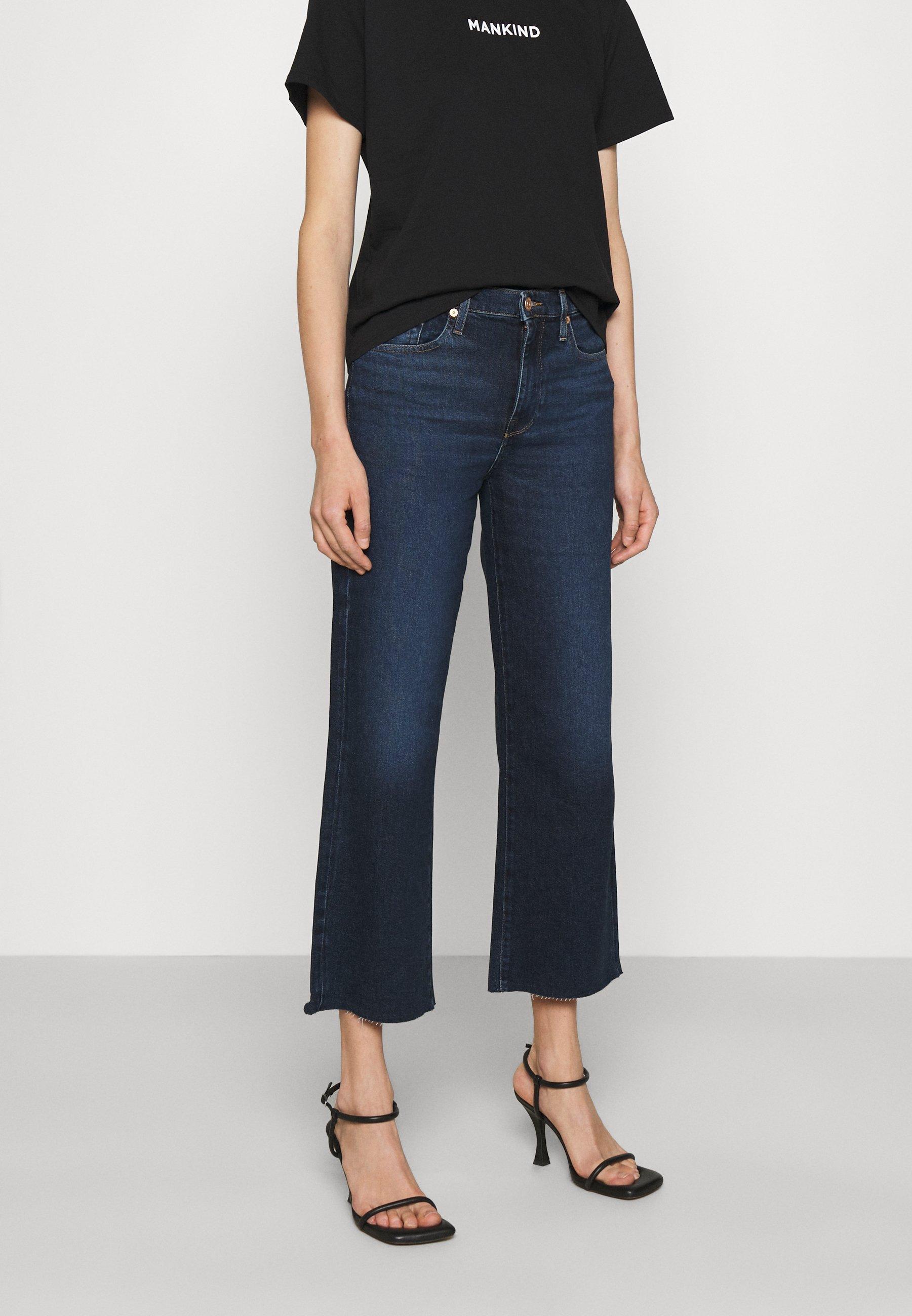 Women CROPPED ALEXA LUXVINCHA - Flared Jeans
