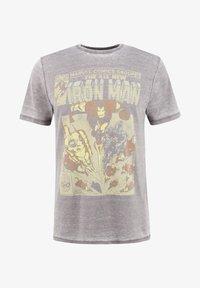 Re:Covered - MARVEL IRON MAN - T-shirt print - grau - 1
