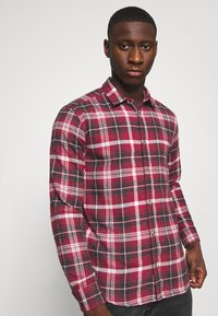 Only & Sons - ONSBOBBY WASHED CHECK - Skjorta - sun dried tomato - 3