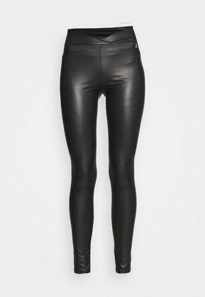PANTS - Leggings - Trousers - nero
