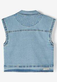 Name it - Waistcoat - light blue denim - 1
