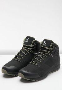 Haglöfs - L.I.M MID PROOF ECO  - Hiking shoes - true black - 3