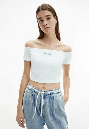 MILANO BARDOT - Print T-shirt - bright white