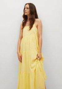 Mango - COTTON - Maxi dress - gul - 3