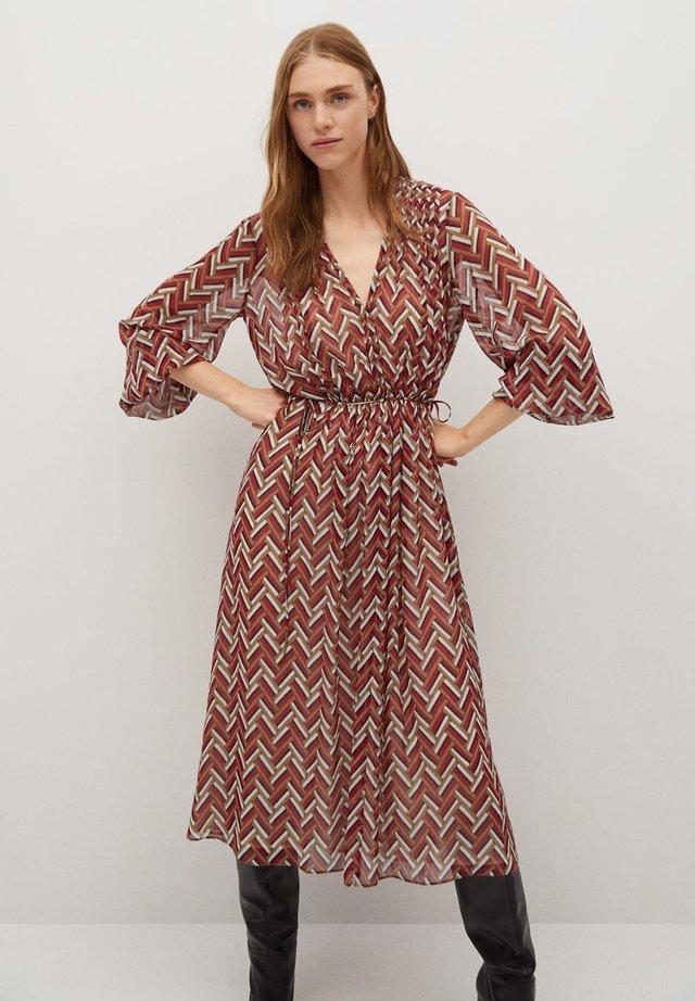 ZIGGY - Day dress - rot