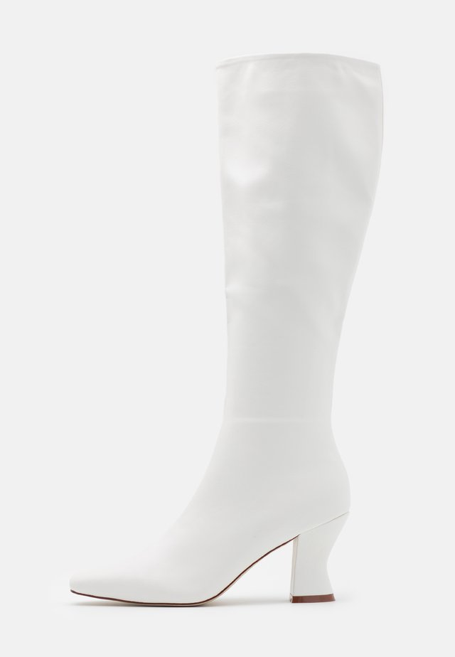 JACEY - Boots - white
