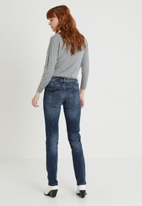 TOM TAILOR - ALEXA - Straight leg jeans - mid stone wash denim blue - 3