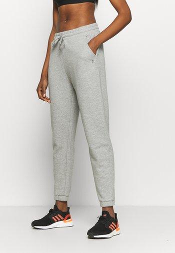 ESSENTIALS - Pantalones deportivos - mid grey marl