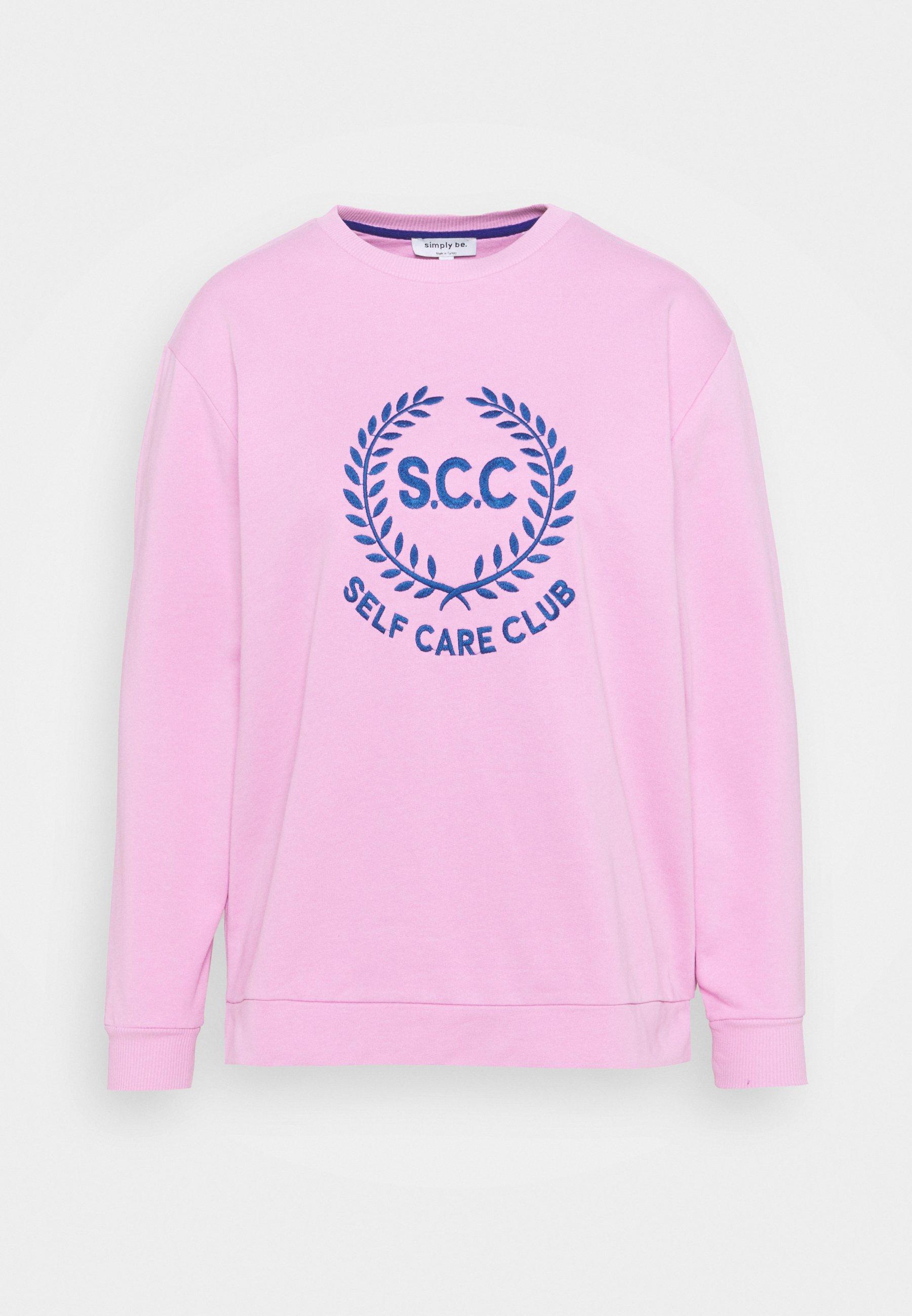 Women SLOGAN CREW NECK - Sweatshirt