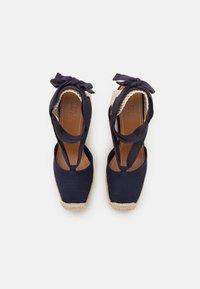 Polo Ralph Lauren - Platform sandals - navy - 4