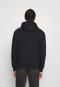 Nike Sportswear - AIR HOODIE - Hoodie - black/dark smoke grey/white - 2