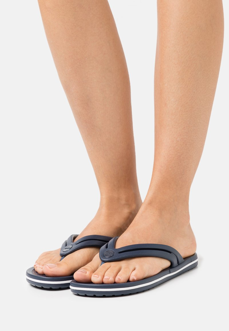 Crocs - CROCBAND - Pool shoes - navy