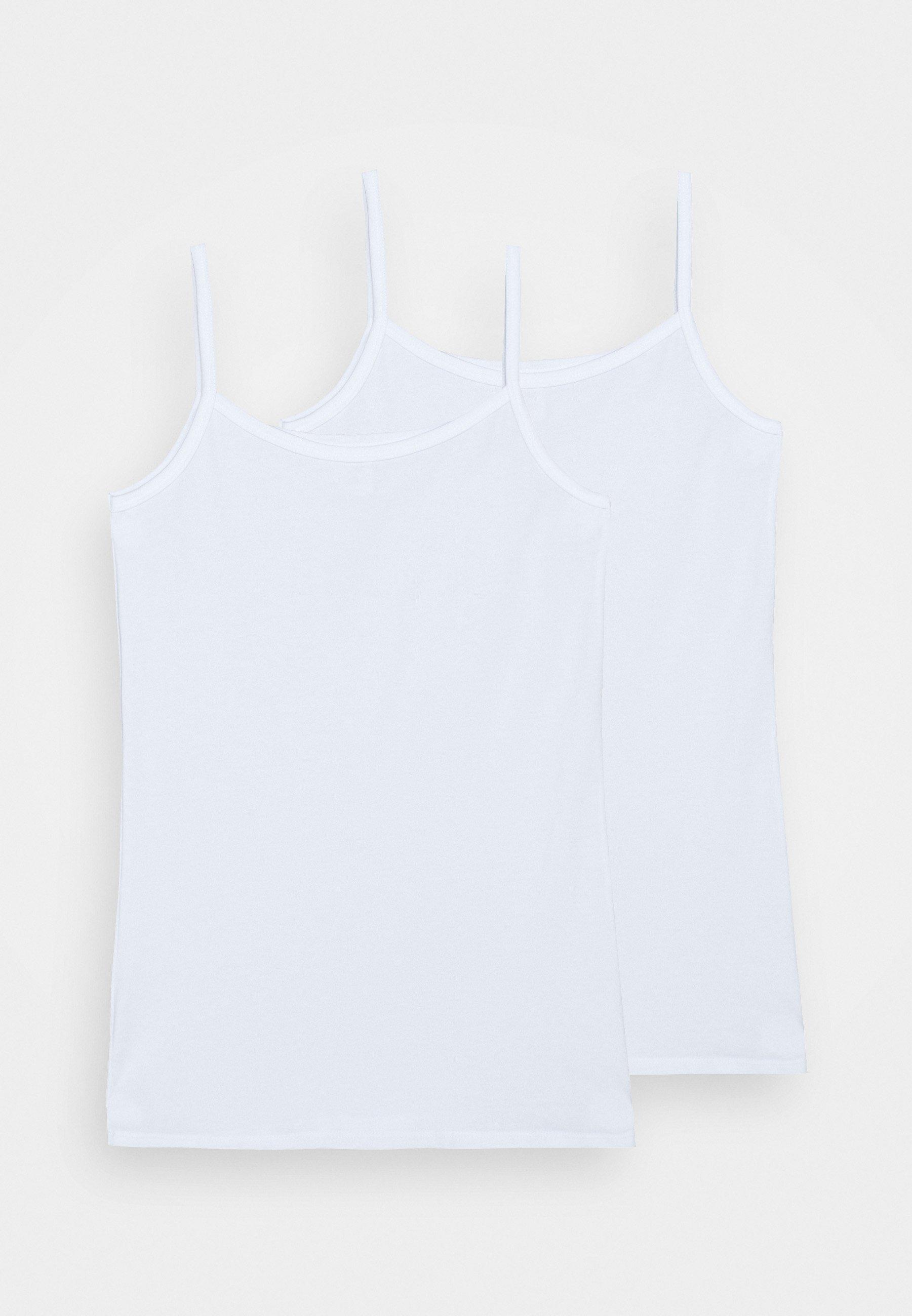 Kids TEENS SPAGHETTI TOPS 95/5 2 PACK - Undershirt